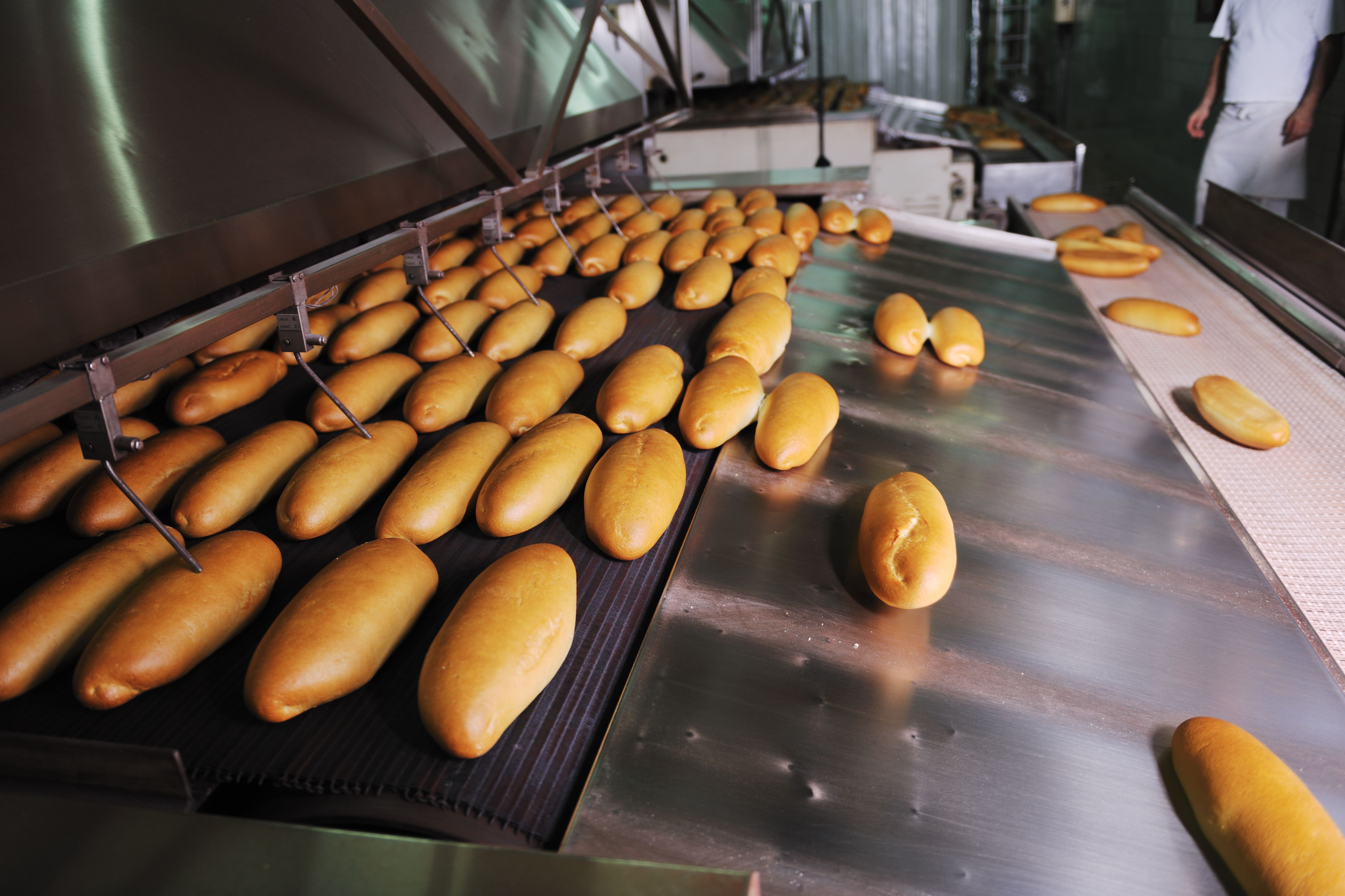 Food Manufacturers use compressed air in their process
