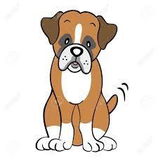 Resultado De Imagen Para Perros Boxer Animados Kopek Boxer Cizim