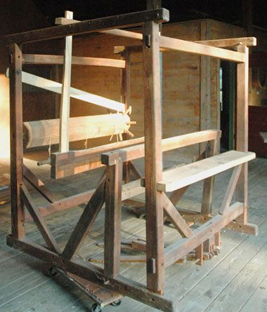 barn frame loom for sale from marshfield school of weaving