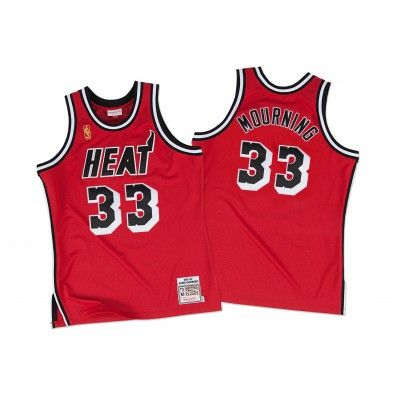 buy popular 393c0 edc10 Alonzo Mourning 1996-97 Authentic Jersey Miami Heat ...