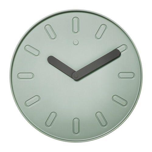 SLIPSTEN Wall clock, green Wall clocks, Clocks and Walls - ikea küche preise