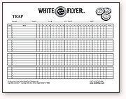 trap shooting score sheet clay pigeon tournament scoring chart | 2014 Trap League Scoreboard ...