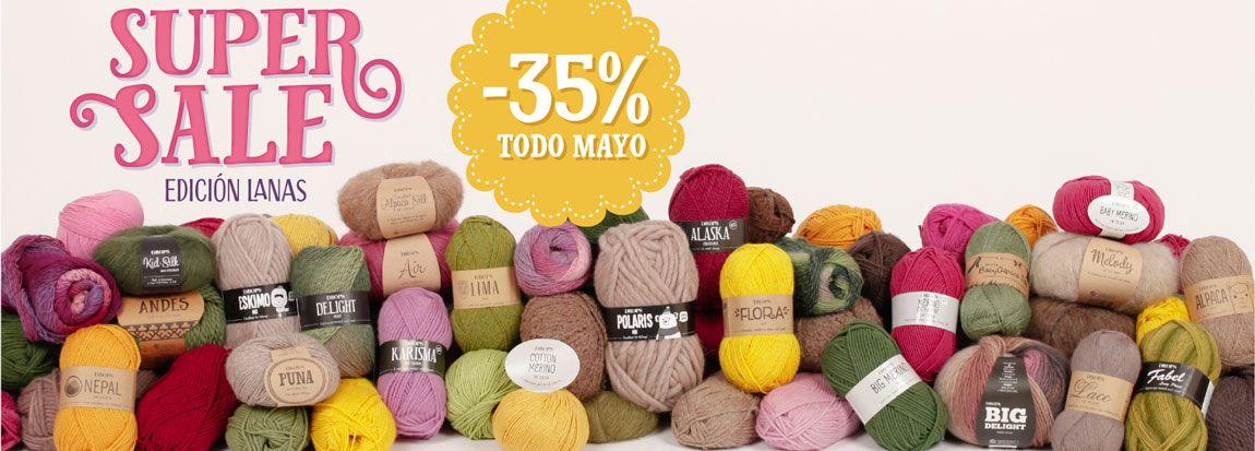 super sale descuento lana barata online   Patrones De Ganchillo ...