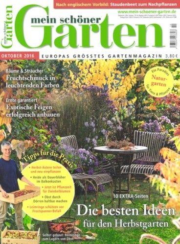 Magazin Mein Schöner Garten Günstig Im Abonnement Bestellen! #garten  #gartenmagazin #gartenzeitschrift #