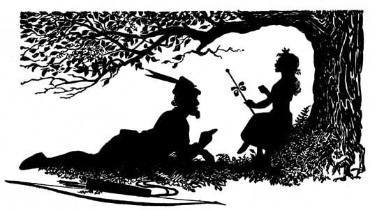 magical house silhouette - Google Search