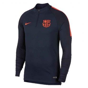 Nike FC Barcelona VaporKnit Strike Drill Top  9e0d2c46eb6