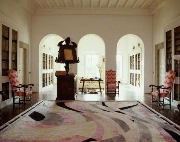 Florence italy granaiolo villa owned by designer emilio for Blog interior design italia