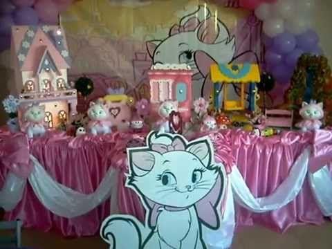 decoracion infantil gatita marie