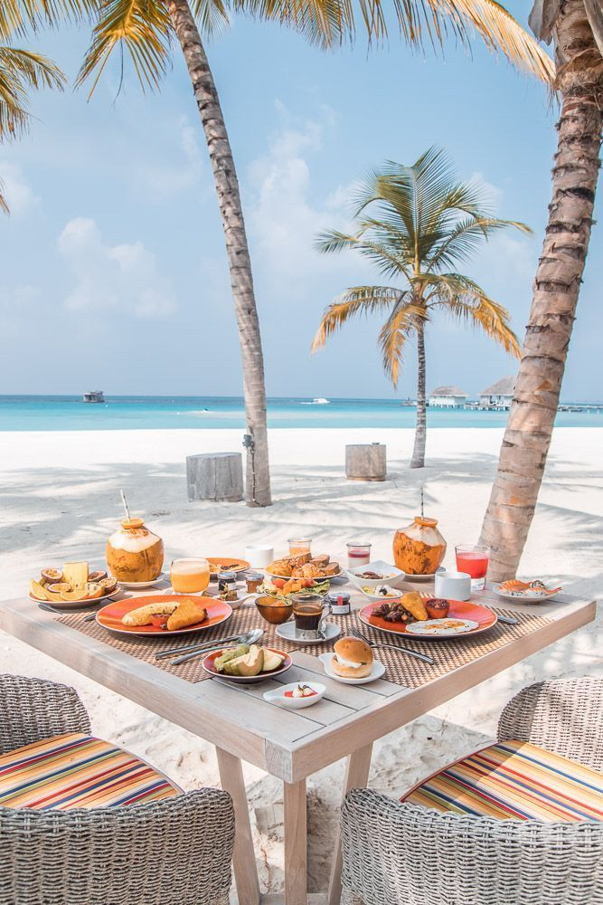 Best Online Travel Deals | Cheap Vacations Resorts Cruises -  Your meal awaits beach side in the Maldives. Bon Appetit.  - #Beaches #cheap #cruises #CultureTravel #deals #NightlifeTravel #online #resorts #travel #TravelGuide #vacations