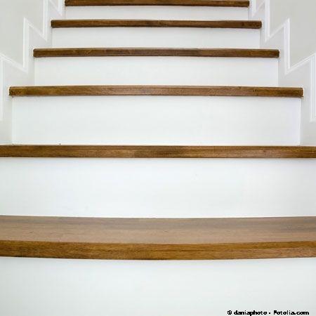 Univers deco escalier bois peint id es d co cosy pinterest photos d co et d coration - Escalier bois peint ...