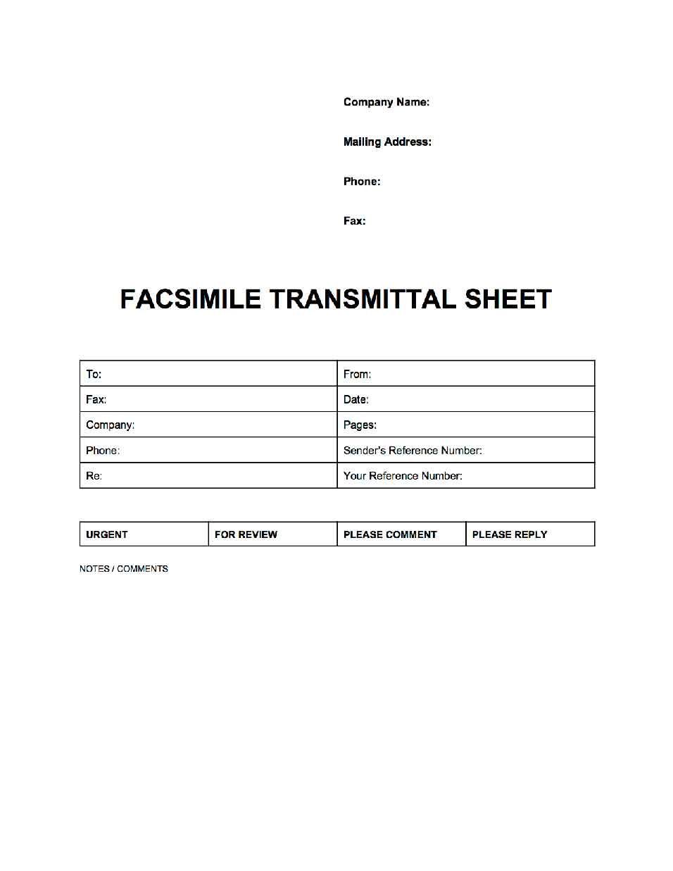 Fax Cover Sheets Templates Professional Fax Cover Sheet  Popularfaxcoversheets  Pinterest