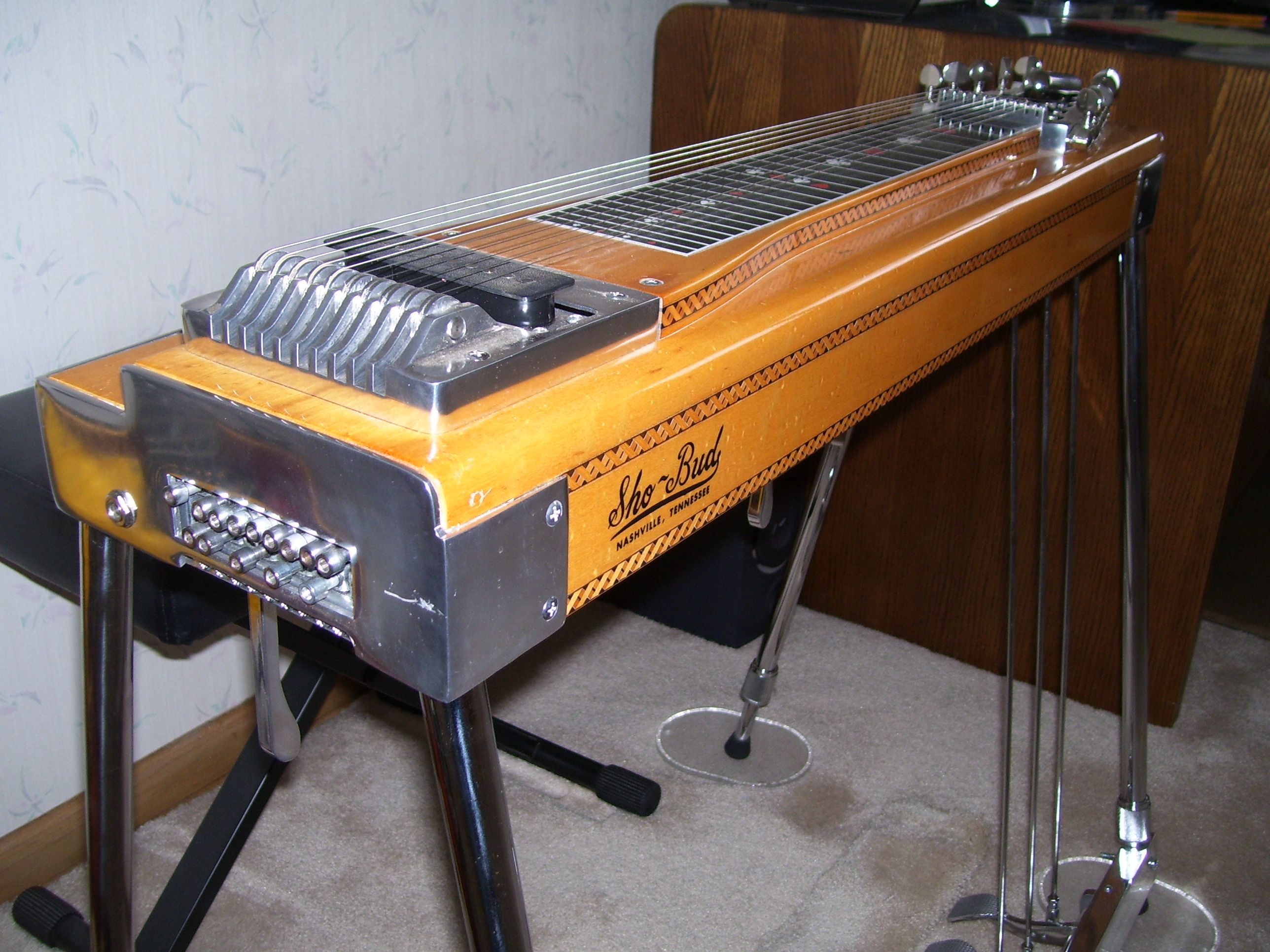 My Personal Vintage 1973 Sho Bud S 10 Pedal Steel Guitar Pedal Steel Guitar Steel Guitar Rare Guitars