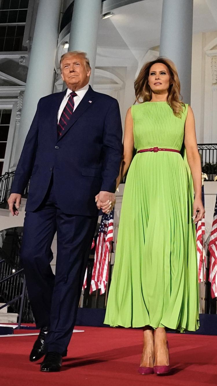 Pin On Melania Trump First Lady Fashion