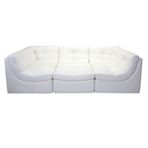 Cloud Modular Sectional White For The Home White