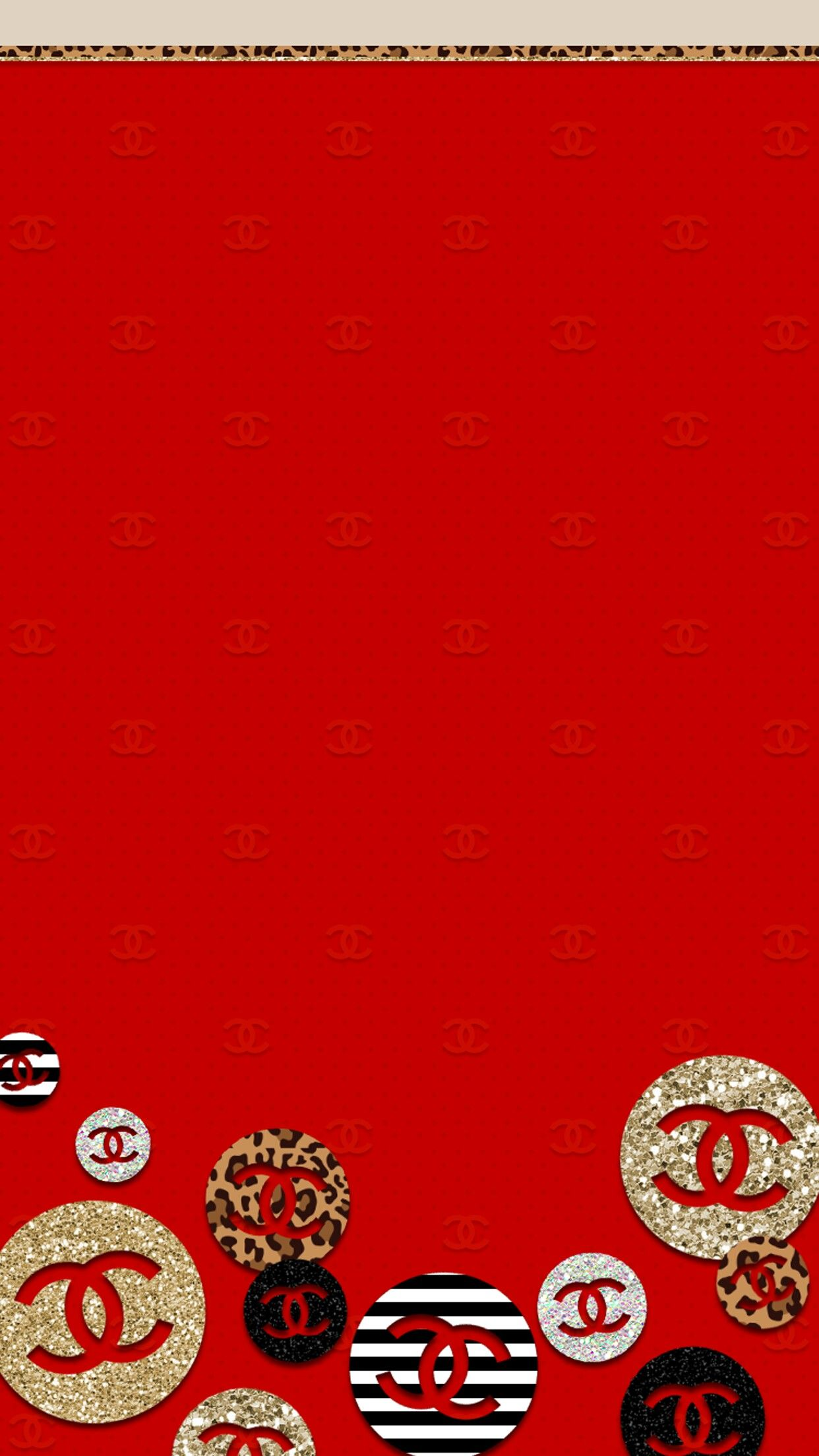 Chanel 壁紙 赤 シャネル ポスター おしゃれな壁紙背景
