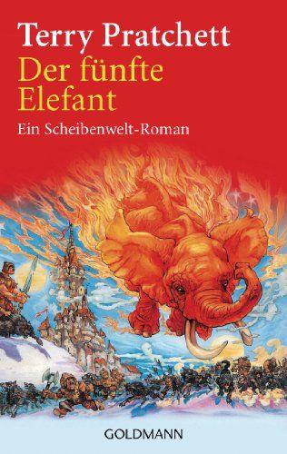 Der Funfte Elefant Ein Scheibenwelt Roman Amazon De Terry Pratchett Andreas Brandhorst Bucher Bucher Romane Romane Elefant