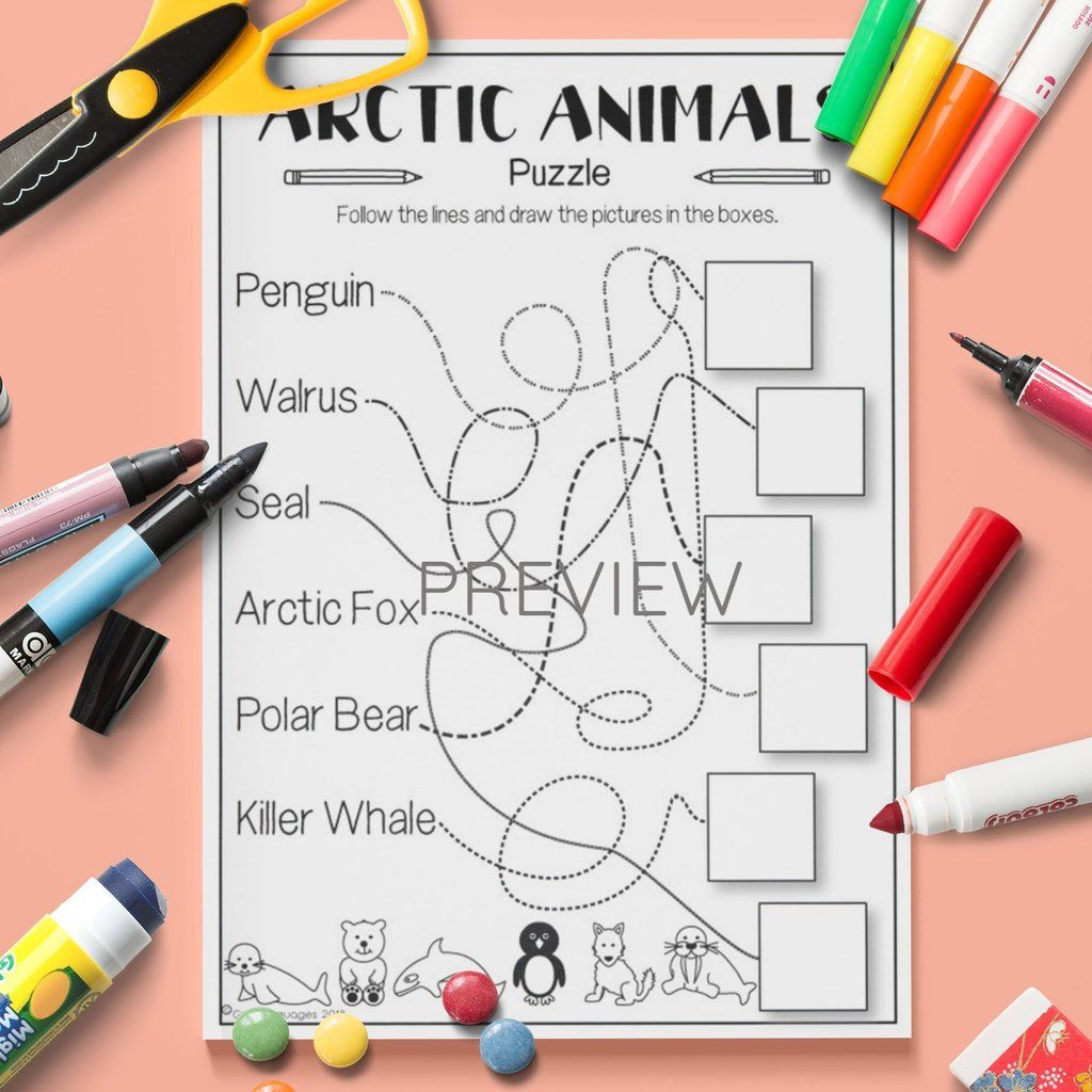 Arctic Animals Puzzle