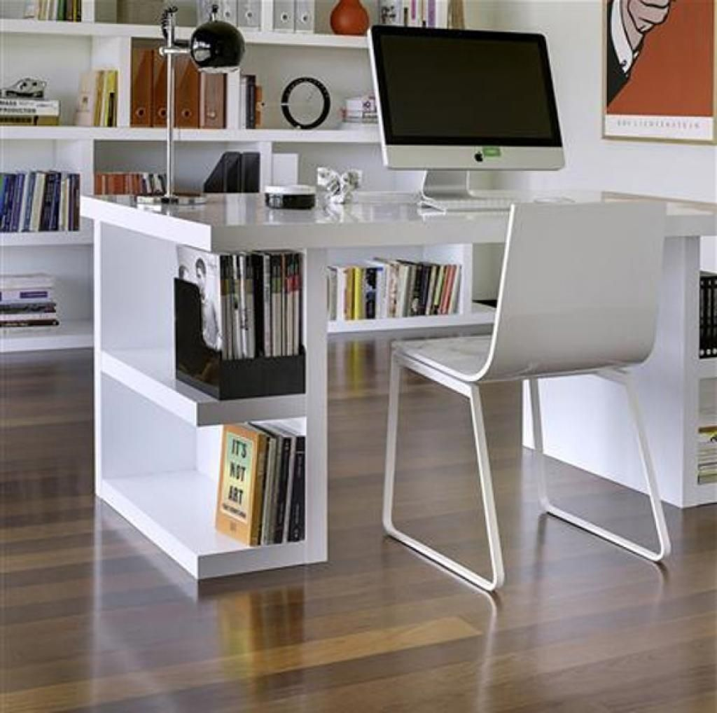 Wonderful Picture Of Modern Office Furniture For Small Spaces