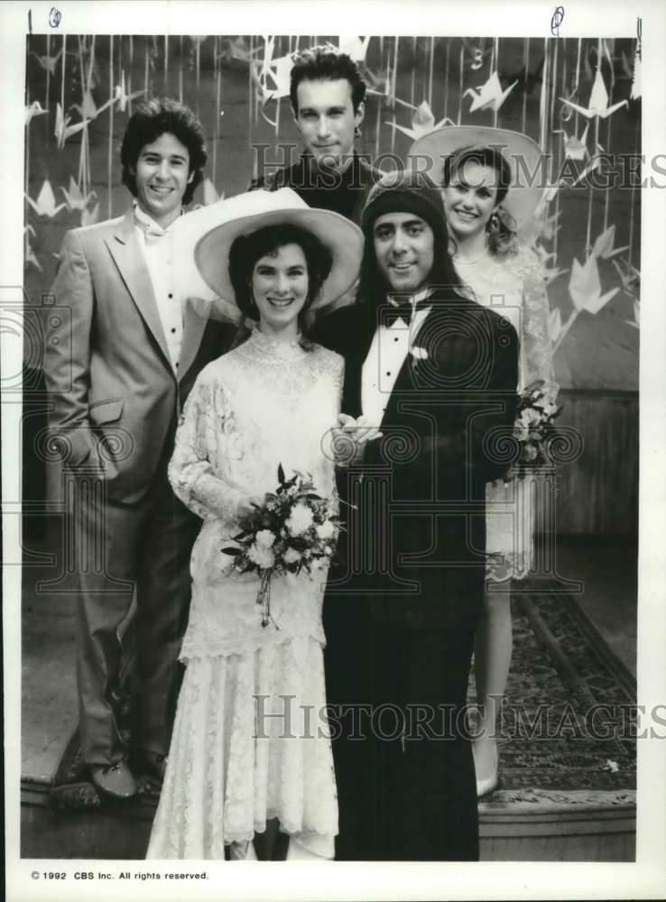 EBay #Sponsored 1992 Press Photo Rob Morrow With Cast