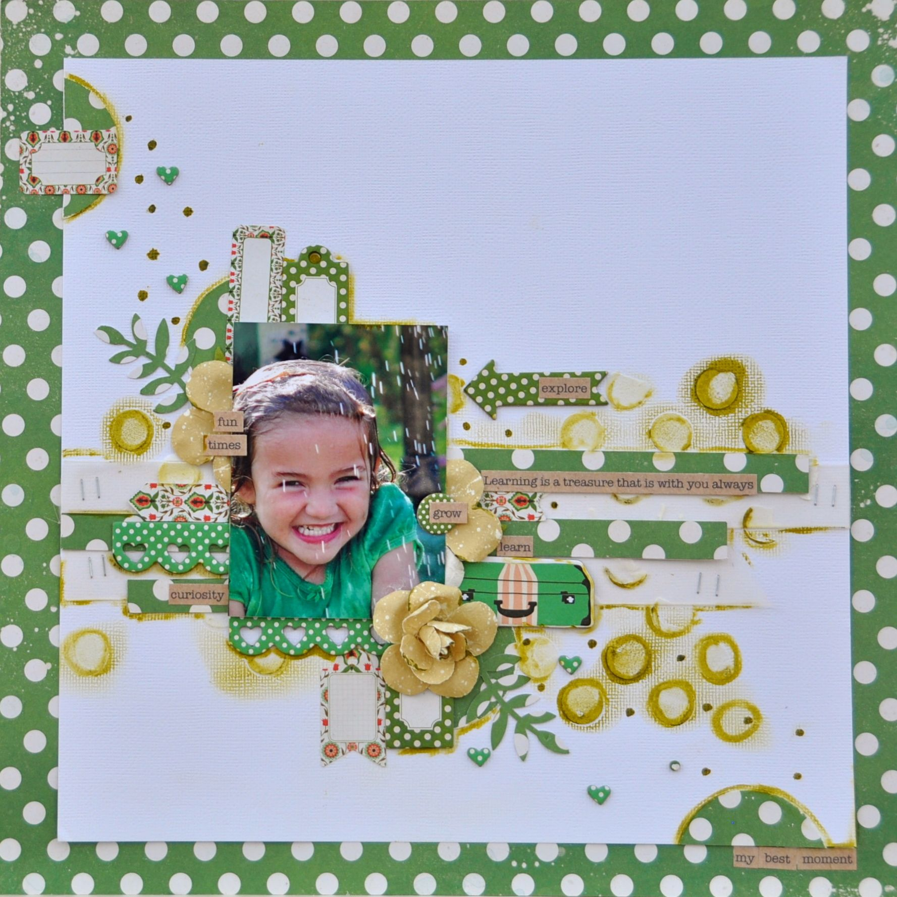 Learning is a Treausure *MCS Main Kit Sept 2014* - Scrapbook.com