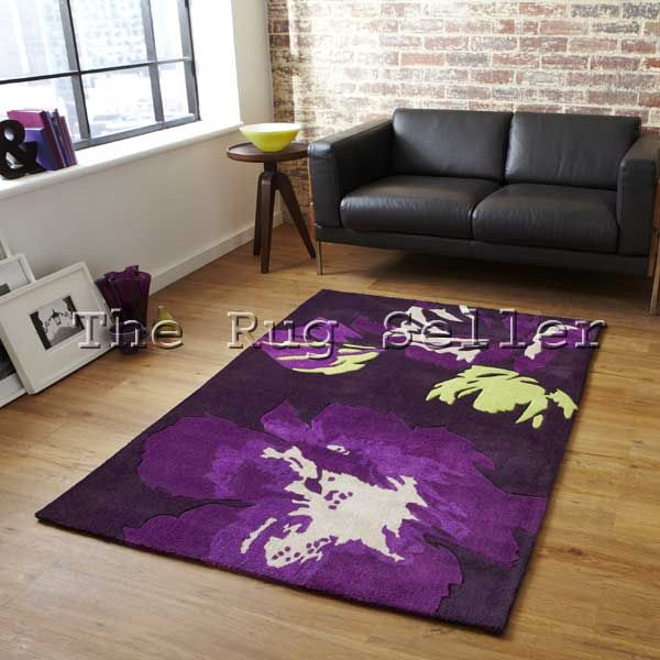 Hong Kong Rugs 2827 Purple Green Online From The Rug Er Uk