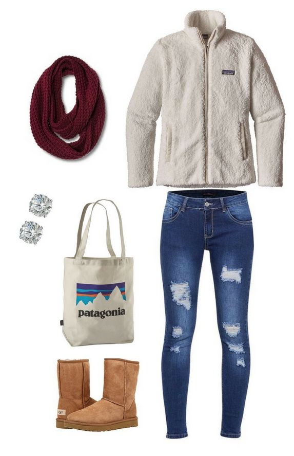 Awesomely Cute Back To School Outfits For High School on ... |Cute Winter Outfits For High School