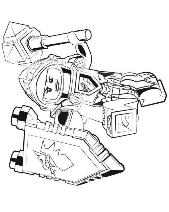 Gratis Lego Ausmalbilder Zum Herunterladen Und Ausdrucken: Nexo Knights Macy Ausmalbilder 223 Malvorlage Nexo Knights