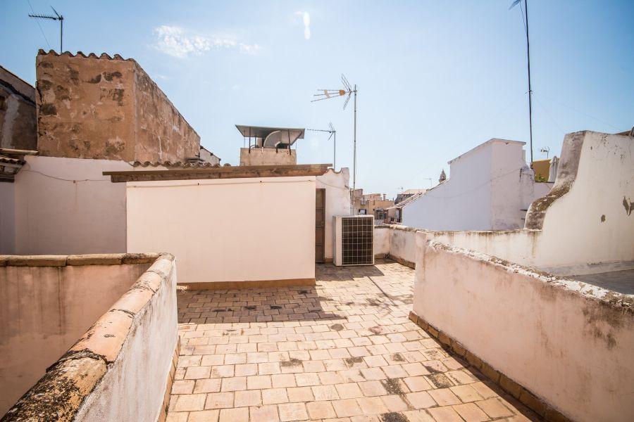 Renoveringsobjekt i centrala Palma, nära Plaza Coll.