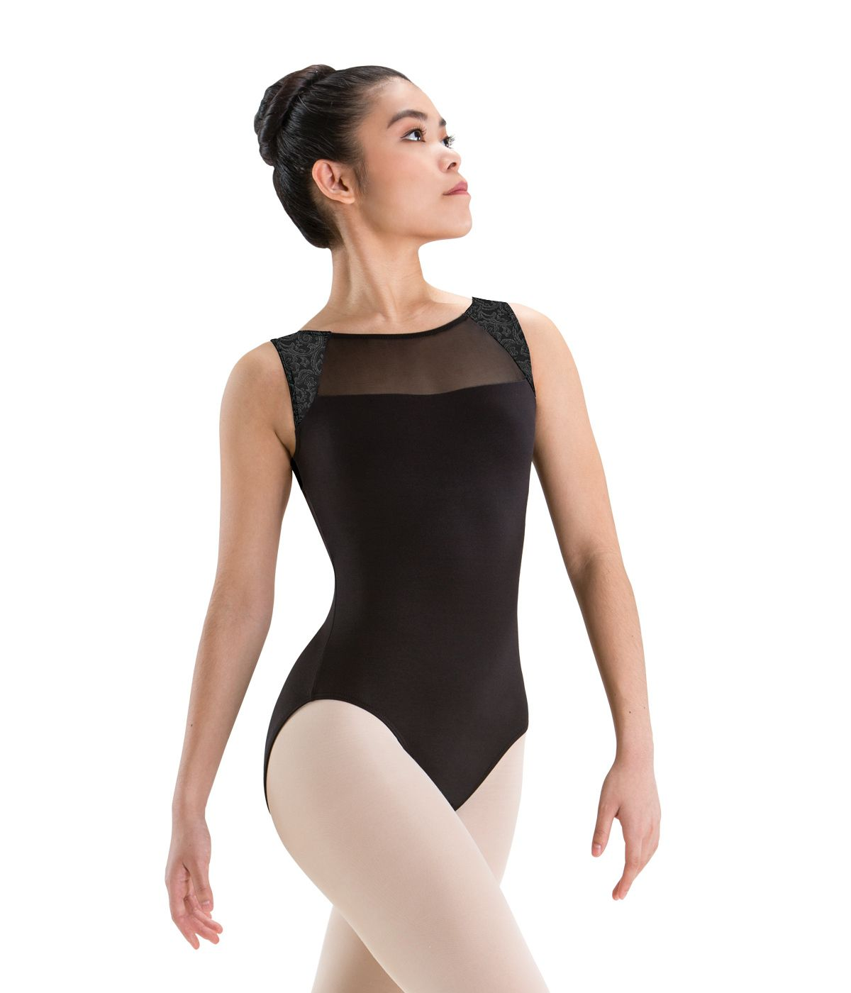 173f93afc1 Tween and adult silkskyn tank ballet dance leotard with versailles and mesh  inserts motionwear jpg 1200x1400
