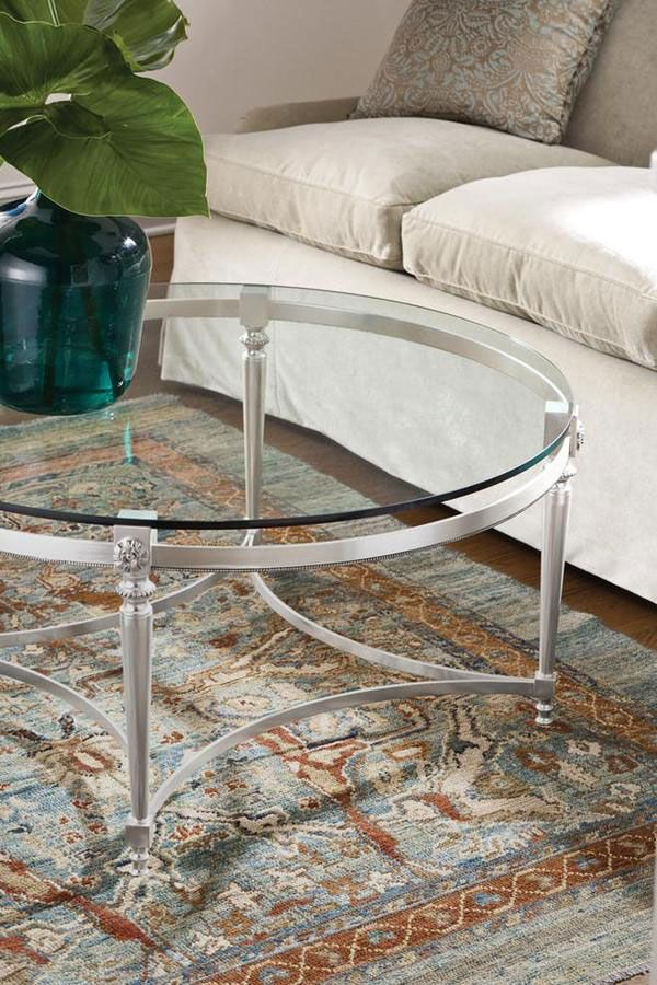 Details Of Hand Cast Wrought Iron Table In Silver Leaf Finish Ceffee Ideas