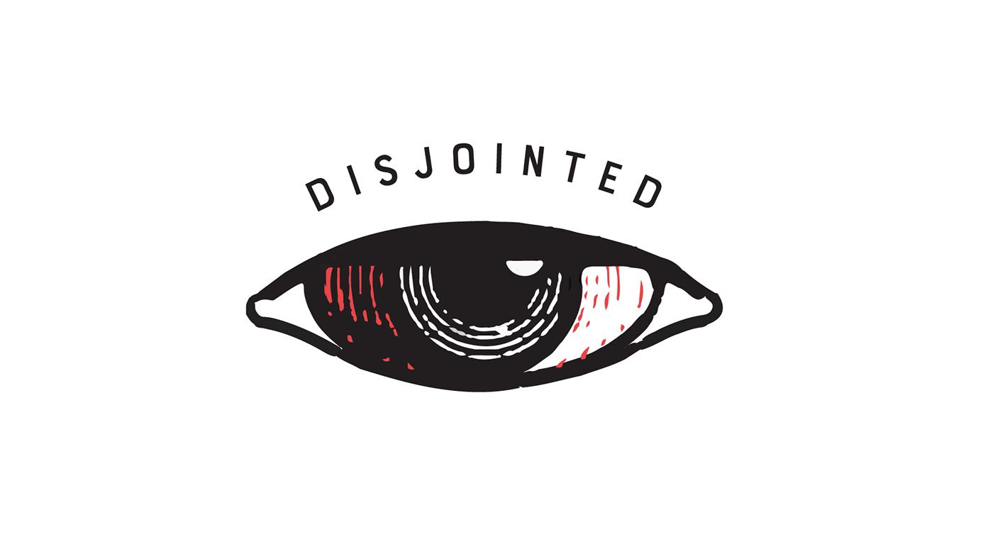 Logo Disjointed Netflix On Behance Art Logo Graphic Design Illustration Logos