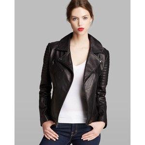 DKNY Jacket - Jenna Leather Moto