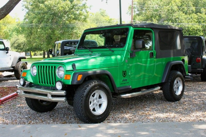 2004 Jeep Wrangler Electric Lime Green Automatic With Images