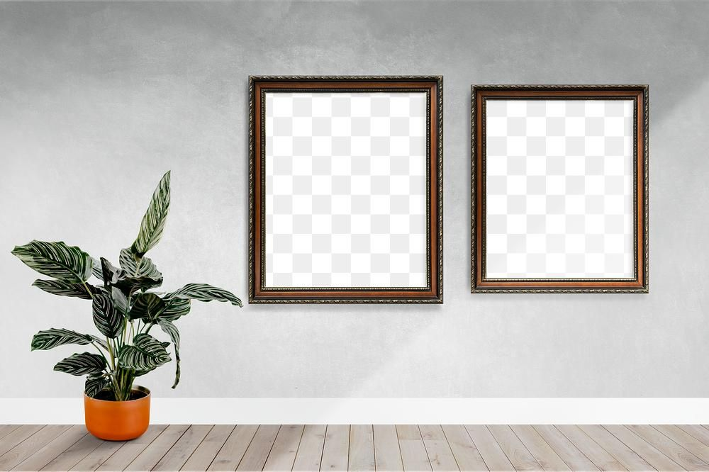 Modern Frame Mockups On A Gray Wall Free Image By Rawpixel Com Nook ในป 2020