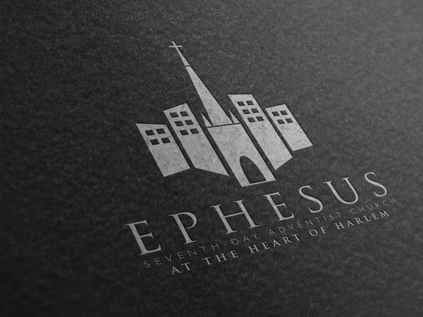 ephesus sda church rebranding on behance church bulletin