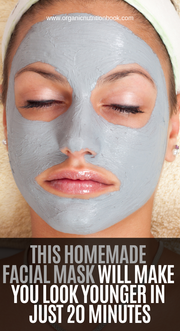 This Homemade Facial Mask Will Make You Look Younger In Just