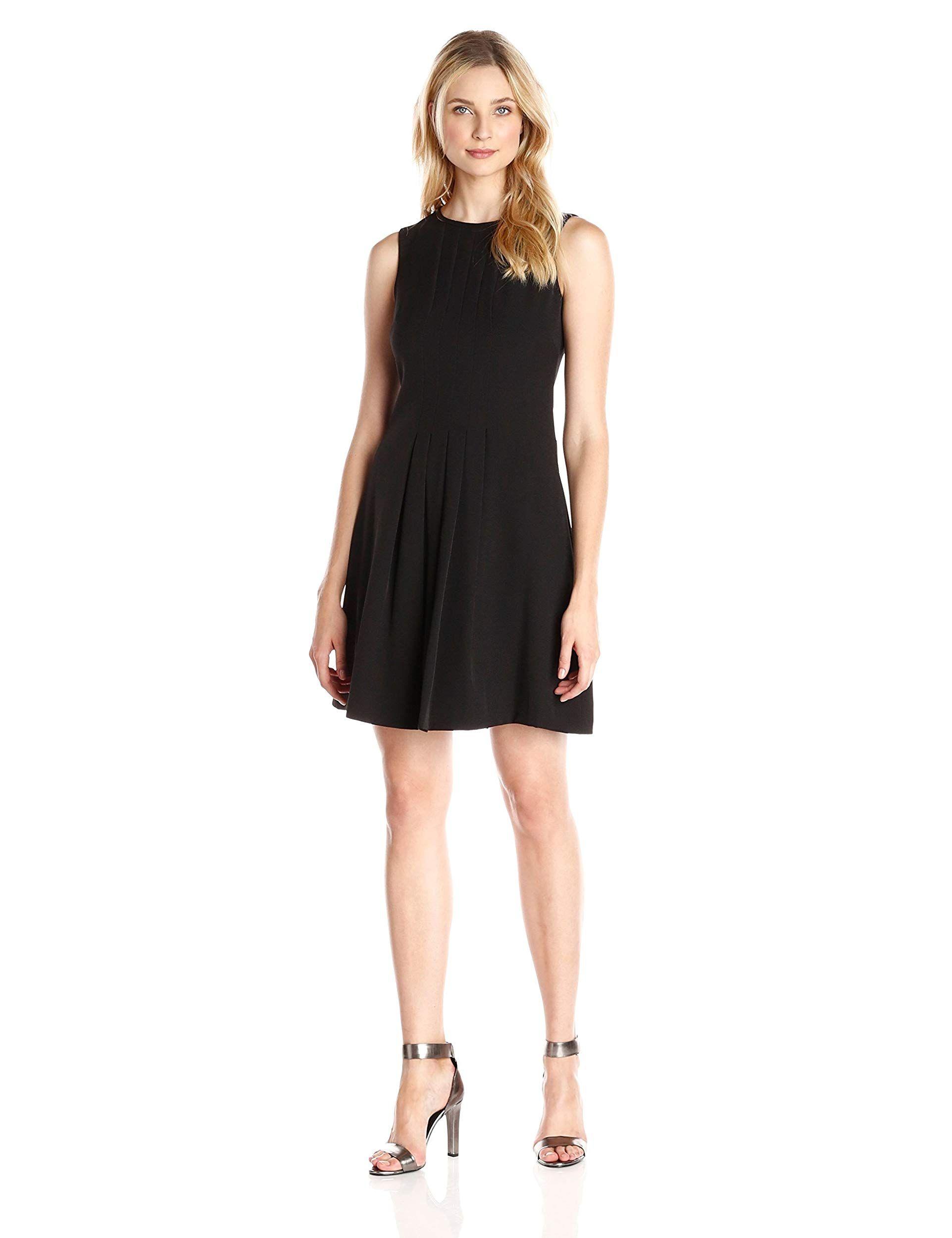 Amazon Vince Camuto Women S Sleeveless A Line Pleated Dress Masha Voronina Product Page Https Www Ama Pleated Shift Dress Clothes Design Fashion [ 2500 x 1923 Pixel ]