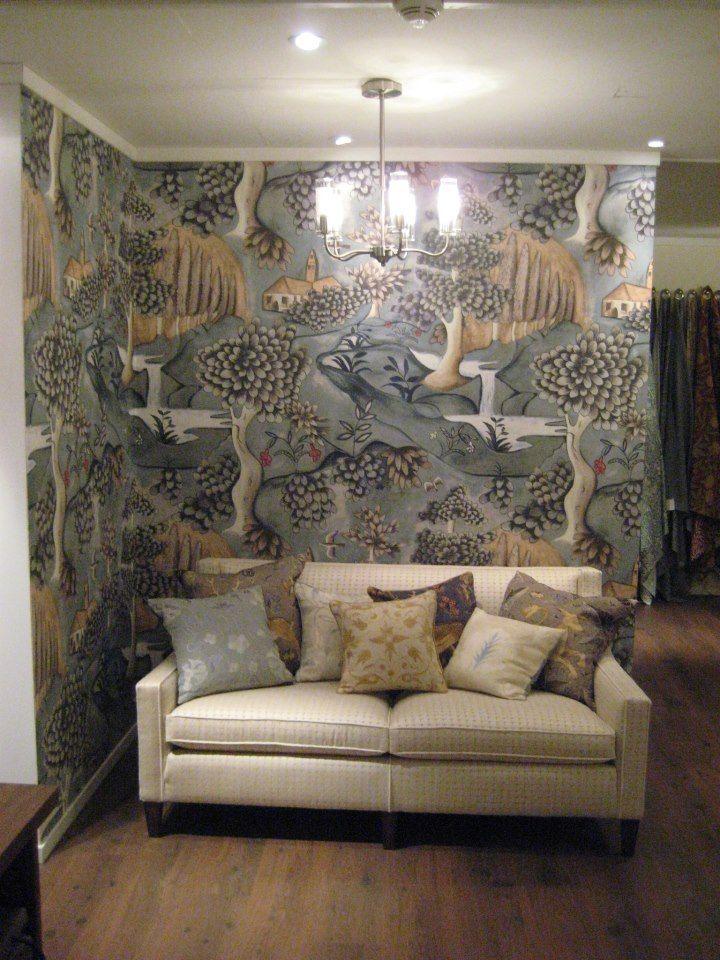Powder Room Wallpaper, Home Wallpaper, Zoffany Wallpaper