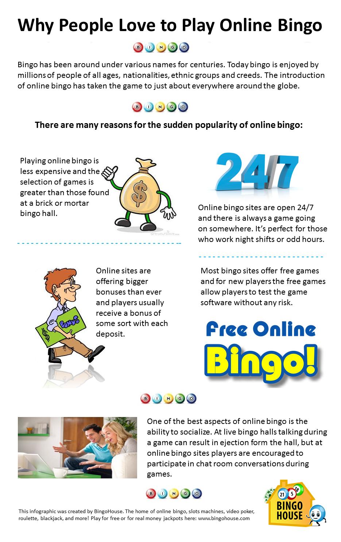 Why People Love to Play Online Bingo! Play online, Bingo