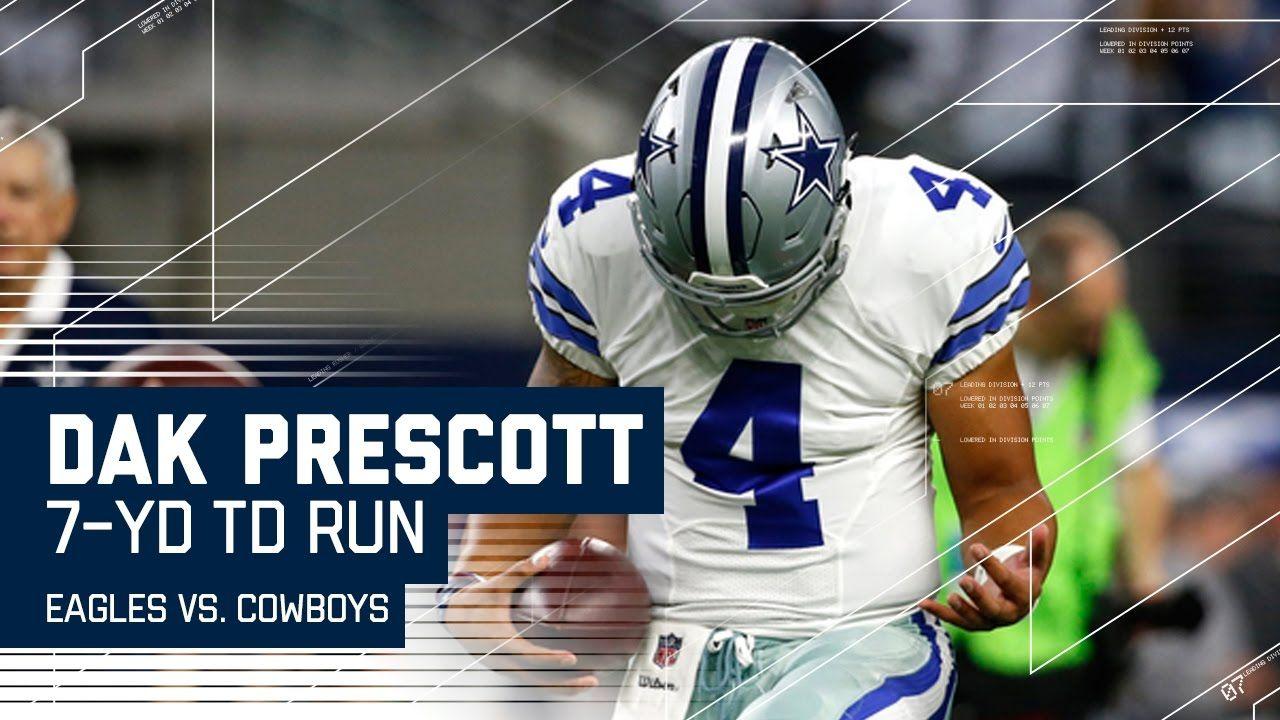 Big Plays by Bryant & Elliott Lead to Prescott's TD Run! | Eagles vs. Co...