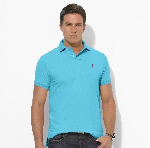 Polo Ralph Lauren Men Stickup Custom-Fit Mesh Light Blue Red is on  promation, don't loss the chance.