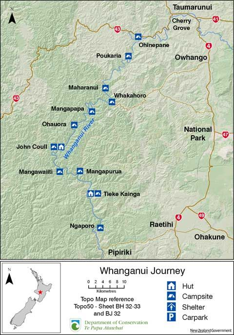 whanganui river map new zealand Google Search New Zealand Part