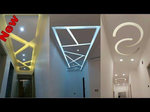 ديكورات جبس ممرات الضيقة 2020 جبس الكولوارات Youtube Neon Signs Interior Neon