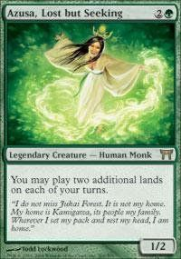 Magic: the Gathering - Azusa, Lost but Seeking - Champions of Kamigawa Magic: the Gathering