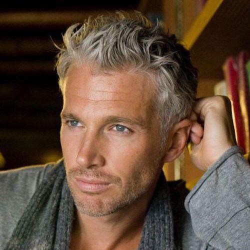 28 Inspirational Senior Mens Hairstyles 2019 Grijs Haar Mannen