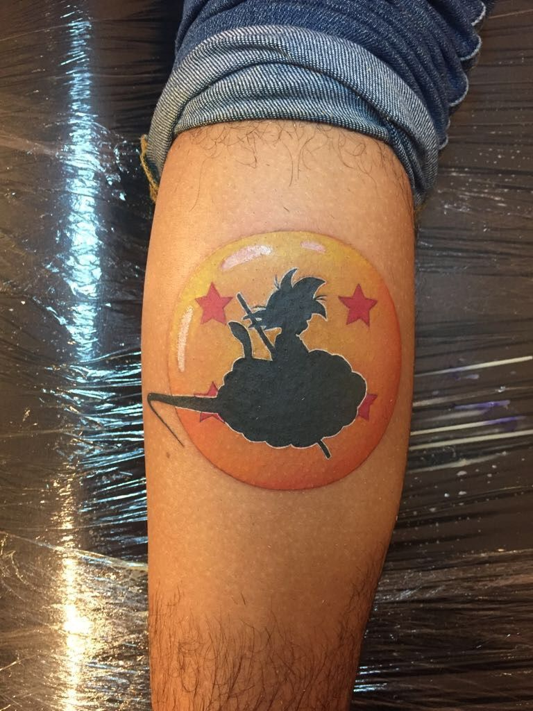 Dragon Balls Tattoos Dragonballstattoo Dragon Ball Tattoo Z Tattoo Dragon Ball Z