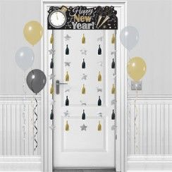 New Year's Eve Door Curtain - 1.95m | New years eve ...