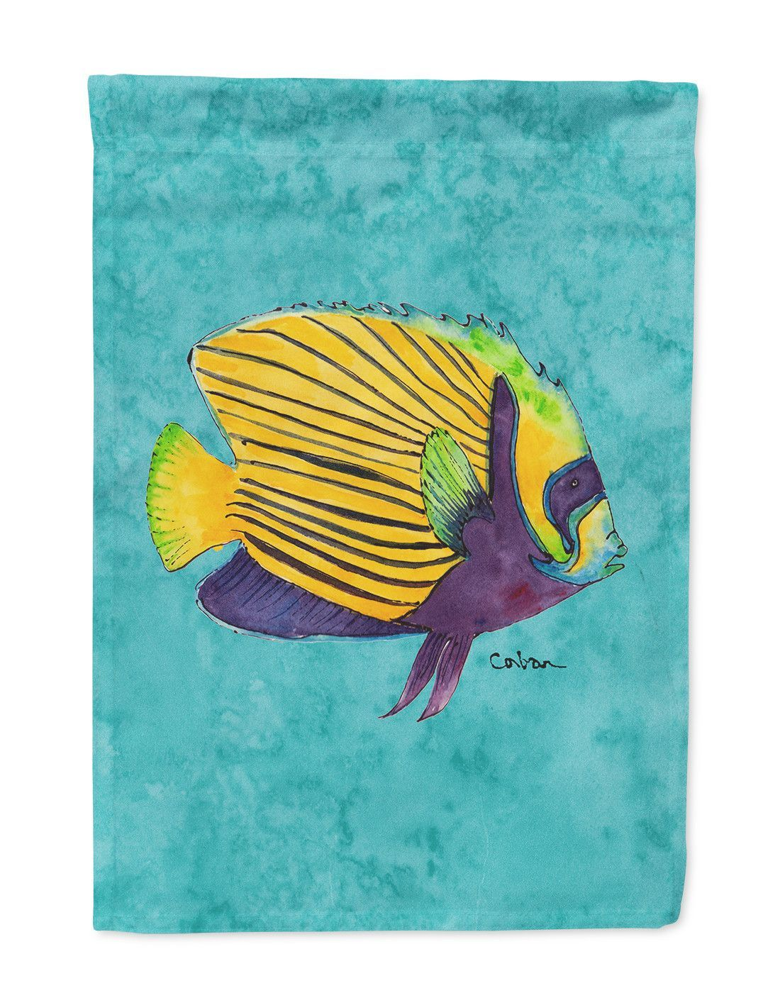 Fish Tropical Flag Garden Size