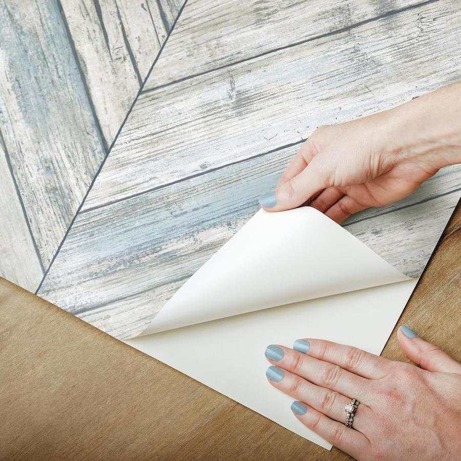 Herringbone Wood Boards Peel And Stick Wallpaper In 2021 Peel And Stick Wallpaper Herringbone Wood Wood Board