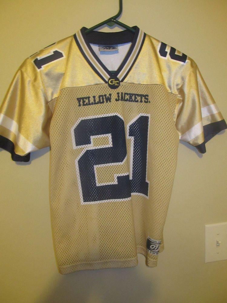 quality design 80d0e 37ddc Calvin Johnson - Georgia Tech Yellow Jackets Football jersey ...